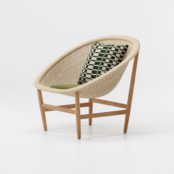 Basket club chair | Armchairs | KETTAL