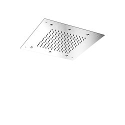 Harmonia F2901 | Ceiling mounted stainless steel showerhead with rain flow | Shower controls | Fima Carlo Frattini