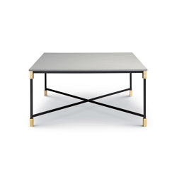 Match Table 150x150 - Square Version with Quartzite Silver Top | Dining tables | ARFLEX