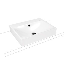 Silenio countertop washbasin 120 mm alpine white | Lavabi | Kaldewei