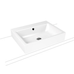 Puro countertop washbasin 120 mm alpine white | Lavabi | Kaldewei