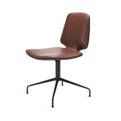 Tilda | Chair with trestle leg | Chaises | Freifrau Sitzmöbelmanufaktur