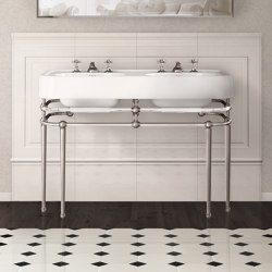 Crystal Memphis Console | Wash basins | Devon&Devon