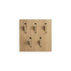 Wall decor | Oak Utilitile hooked | Coat racks | Ethnicraft