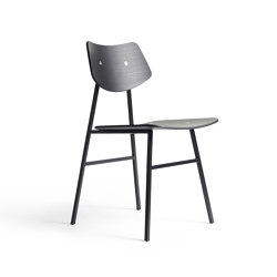 1960 Chair Black Oak | Sedie | Rex Kralj