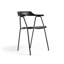 4455 Chair Black oak   Chairs   Rex Kralj