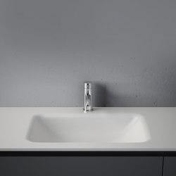 D1 Tapa con lavabo integrado en Corian® | Lavabos | Inbani