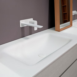 D2 Corian® top with integrated washbasin | Wash basins | Inbani