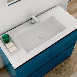 H5 Tapa con lavabo integrado en Solidsurface | Lavabos | Inbani