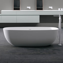 Temple Solidsurface Bathtub | Bathtubs | Inbani