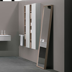 Strato Mirror with mitered frame | Mirrors | Inbani