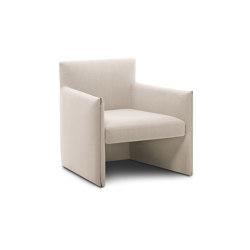 DOUBLE 021 Lounge Chair | Poltrone | Roda
