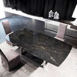 Nord dining table in marble   Mesas comedor   Erba Italia
