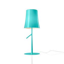 Birdie table large aquamarine | Table lights | Foscarini