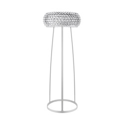 Caboche floor large/medium transparent | Free-standing lights | Foscarini