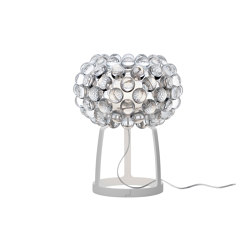 Caboche Plus table petit transparent | Luminaires de table | Foscarini