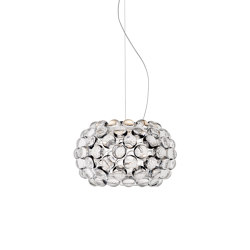 Caboche Plus suspension petit transparent | Suspensions | Foscarini