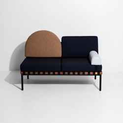 Grid | 2 seater sofa without armrests | Divani | Petite Friture