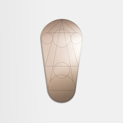 Mask | Oval | Mirrors | Petite Friture