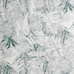 Jungle | Ink wallpaper | Carta parati / tappezzeria | Petite Friture