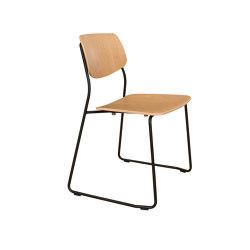 Felber C14 Metal Sled | Chairs | Dietiker