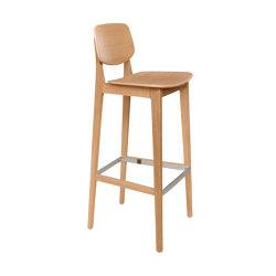 Felber C14 Wood Barstool | Bar stools | Dietiker