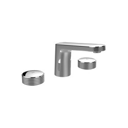 Texture Collection F5601 | 3-holes basin mixer | Wash basin taps | Fima Carlo Frattini