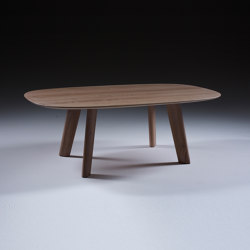 Luc coffee table oval | Coffee tables | Artisan