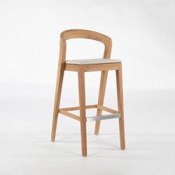 Play Barstool outdoor - Teak | Bar stools | Wildspirit