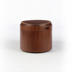 Stoll 50 - Walnut | Poufs | Wildspirit