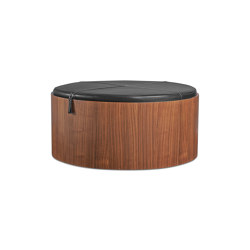 Stoll 90 - Walnut | Poufs / Polsterhocker | Wildspirit