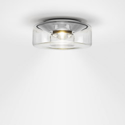 CURLING Ceiling | shade glass clear | Lampade plafoniere | serien.lighting