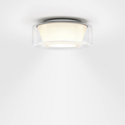 CURLING Ceiling | shade glass clear, reflector conical opal | Ceiling lights | serien.lighting
