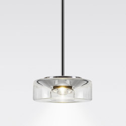 CURLING Suspension Tube | shade clear | Suspended lights | serien.lighting