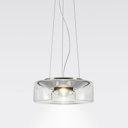 CURLING Suspension Rope | shade clear | Suspended lights | serien.lighting