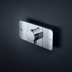 AXOR One Thermostatic module for concealed installation, for 2 outlets | Shower controls | AXOR