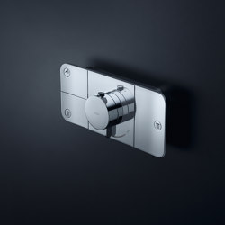AXOR One Thermostatic module for concealed installation, for 3 outlets | Shower controls | AXOR