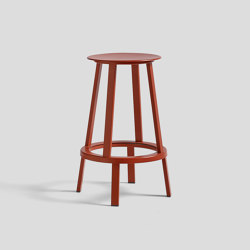 Revolver Bar Stool Low | Bar stools | HAY