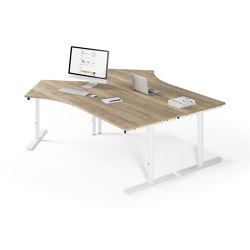 Sympas table system | Contract tables | Assmann Büromöbel
