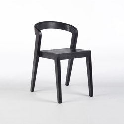 Play Chair - Teak Black Coated | Sedie | Wildspirit