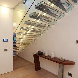 Acrylic | Staircase systems | Siller Treppen