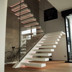 Go Up | Staircase systems | Siller Treppen