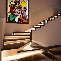 ZigZag LED   Staircase systems   Siller Treppen