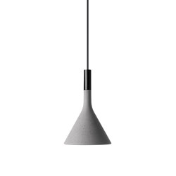 Aplomb Mini suspension grise | Suspensions | Foscarini