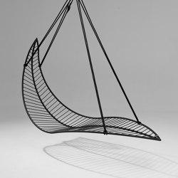 Leaf Hanging Chair Swing Seat - Lined | Swings | Studio Stirling