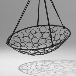 Basket Circle Hanging Chair Swing Seat | Swings | Studio Stirling