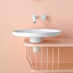 Bowl Top Mounted Topsolid washbasin | Wash basins | Inbani