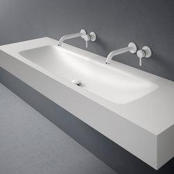 D5 Corian® Washbasin Countertop | Lavabos | Inbani