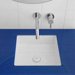 Glaze Topsolid Under Mounted  washbasin | Wash basins | Inbani