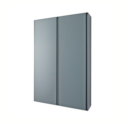 Strato Wall mounted Metallic cabinet units | Mirror cabinets | Inbani